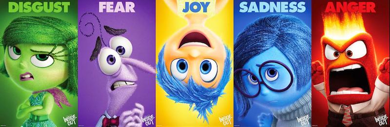 emotional marketing copy—inside out movie cast