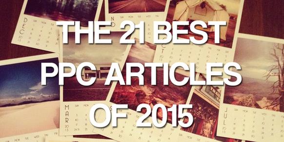 Best PPC articles 2015