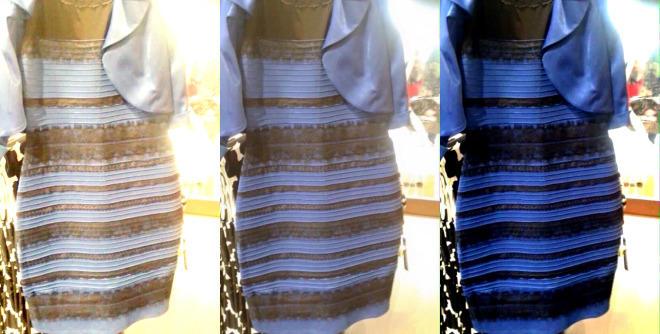 The black blue white gold dress