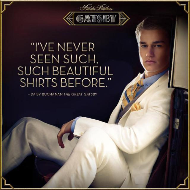 Great Gatsby Advertising Mistake