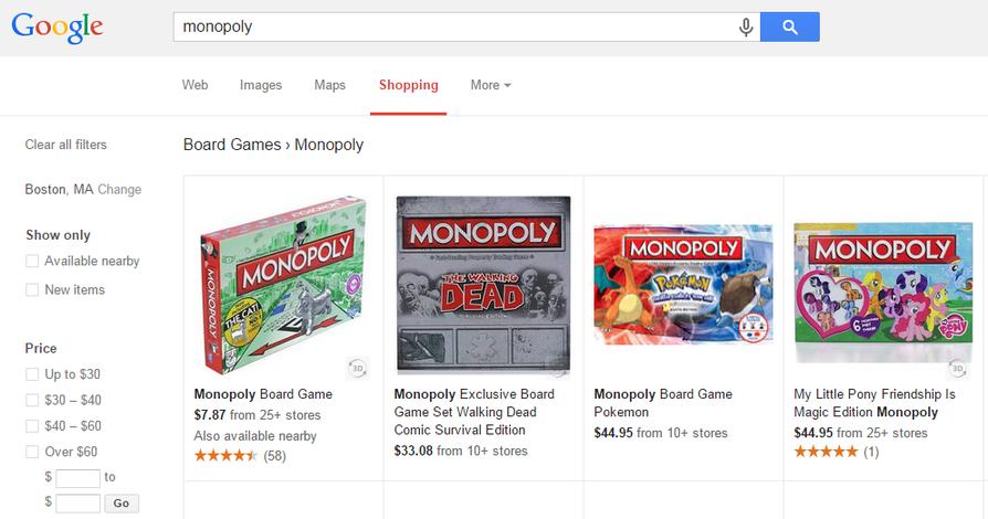 Google antitrust Shopping ads