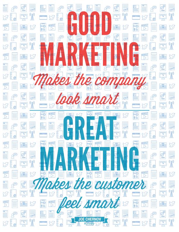 Marketing quotes Joe Chernov