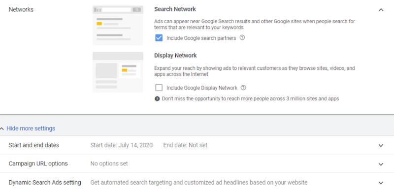 Google ads grants dynamic search ads