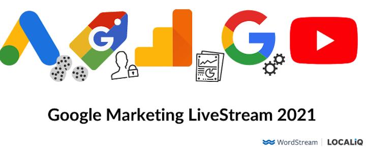 logos of google ads, google shopping, google analytics, google, and youtube