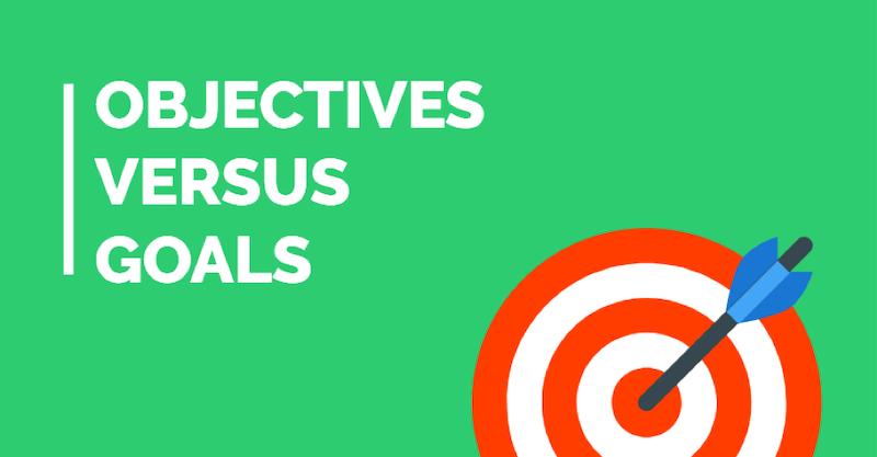 Marketing objectives goals vs objectives