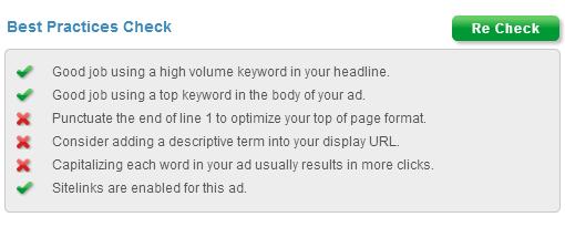 best practices ad text generator