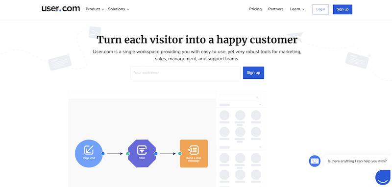 user.com marketing automation tool