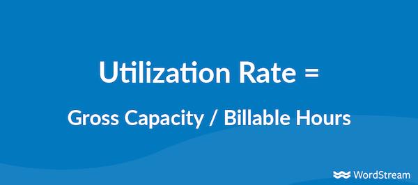 agency profitability metrics utilization rate