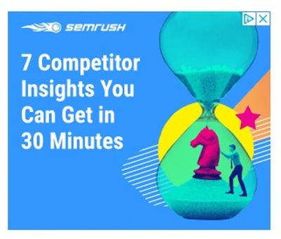 best display ads of 2020-semrush example