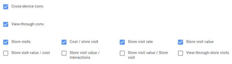 google display network mistakes google ads columns