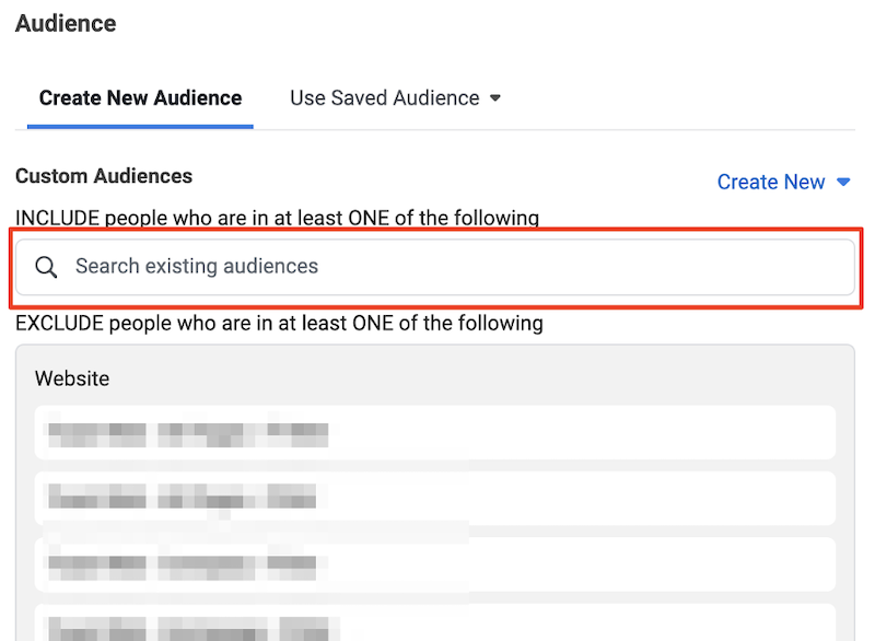 increase bottom of funnel conversions-facebook custom audiences