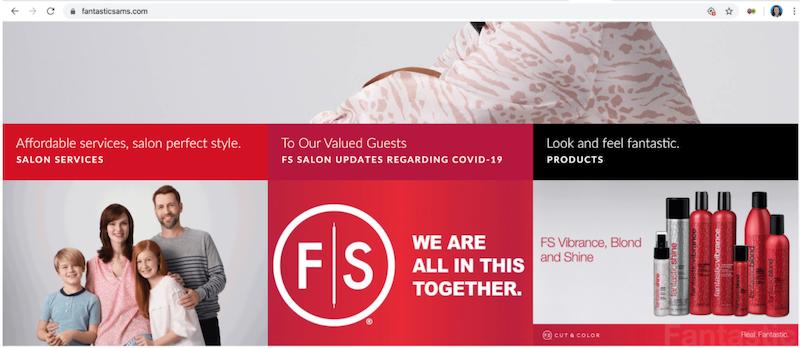 marketing copywriting covid fantastic sams