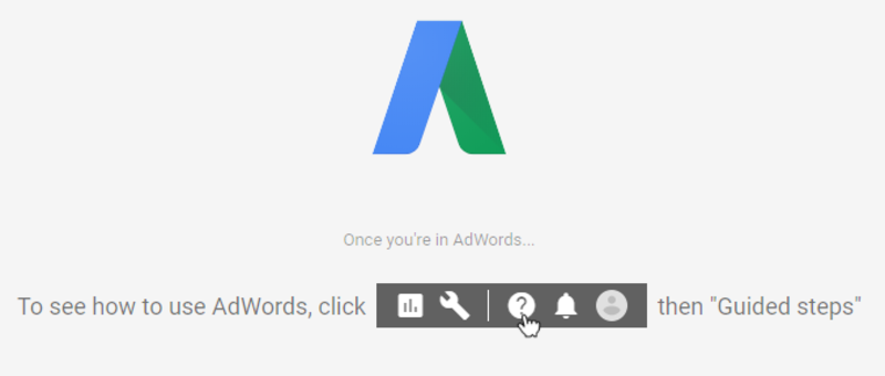 logo old adwords ui