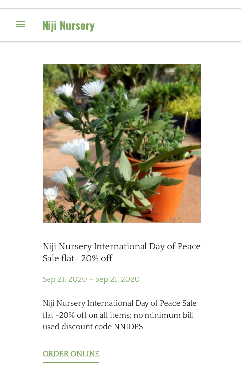 september marketing ideas day of peace