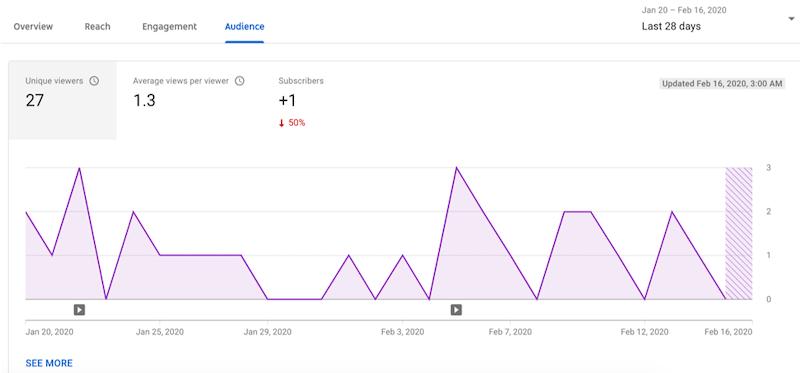 youtube statistics insights