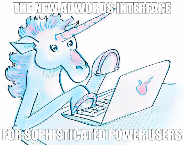 new adwords ux