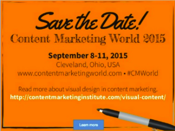 SlideShare marketing calls-to-action in presentation