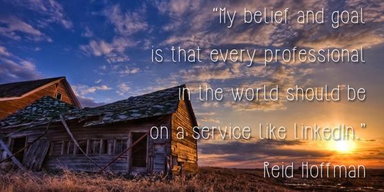 Social media quotes Reid Hoffman