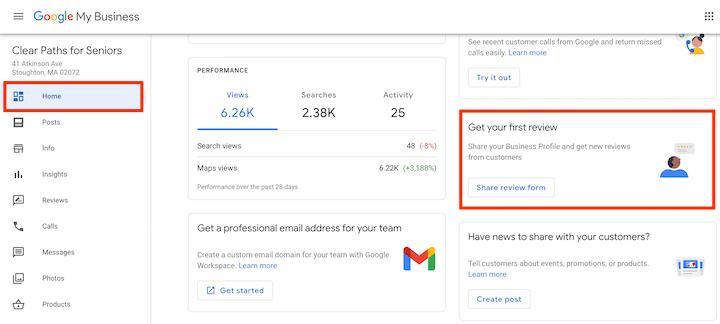 get more google reviews: google review shortcut link creation