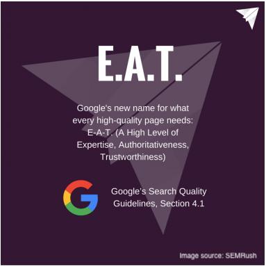 google EAT