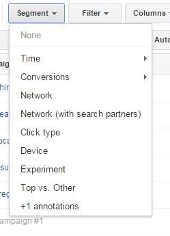 ABCs of AdWords segments