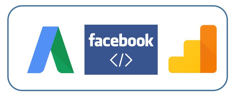 adwords conversion tracking facebook GA