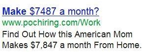 Make $7487 a month?