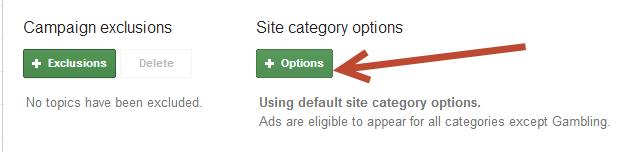 AdWords Remarketing Options