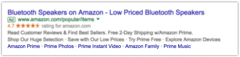 adwords sitelinks for black friday