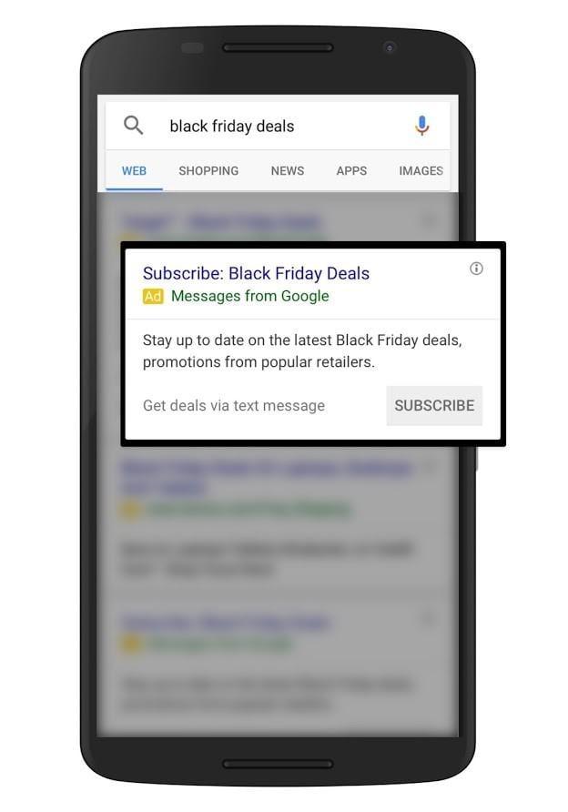text message ads