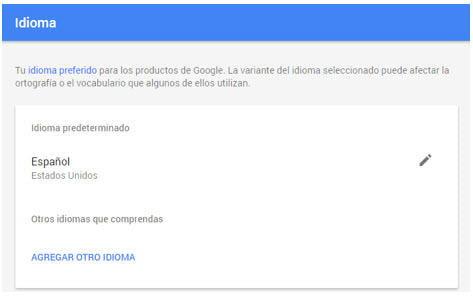 adwords settings bilingual