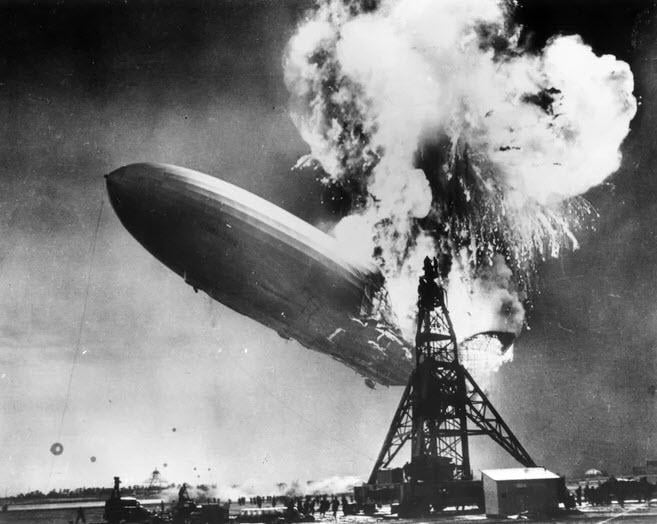 Ambush marketing Hindenburg disaster