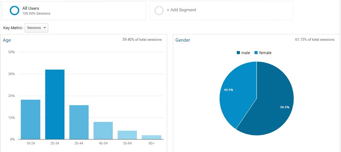 B2B content marketing WordStream audience demographic profile