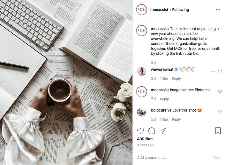 Best Business Instagram Account: IBM: Moe Assist