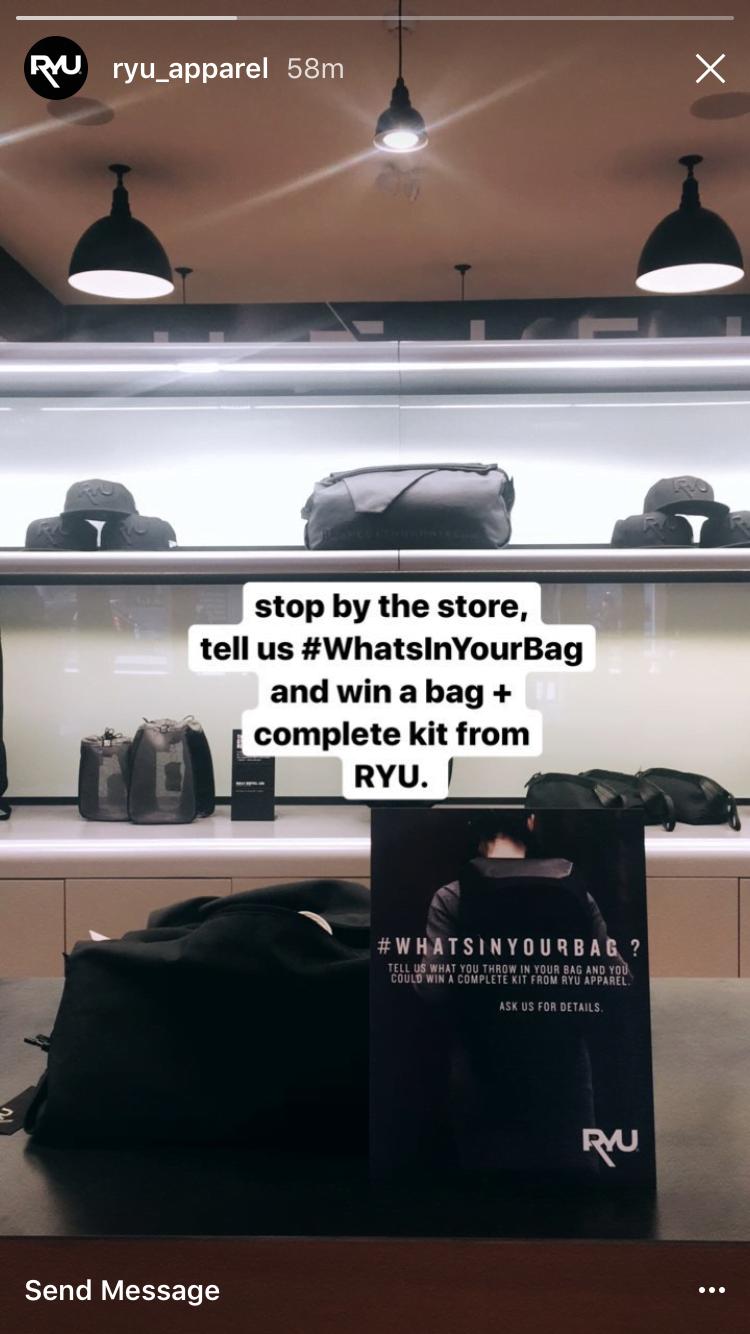 Best Instagram Marketing Campaigns Ryu