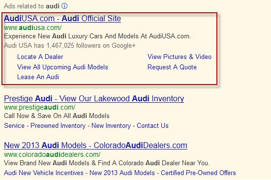 Brand Search PPC Ad