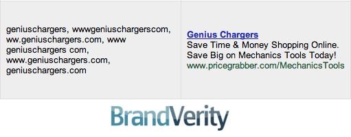 Brand Bidding for Keywords