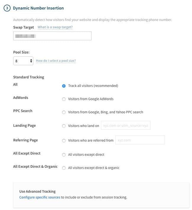 call conversion reporting tools