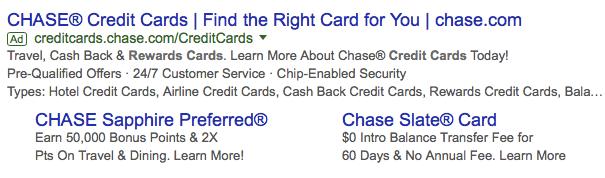 banking ad copy