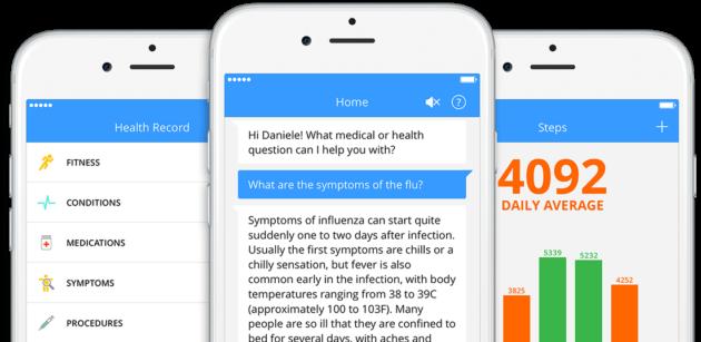 Chatbots MedWhat screenshot