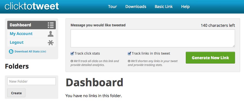 click to tweet tool