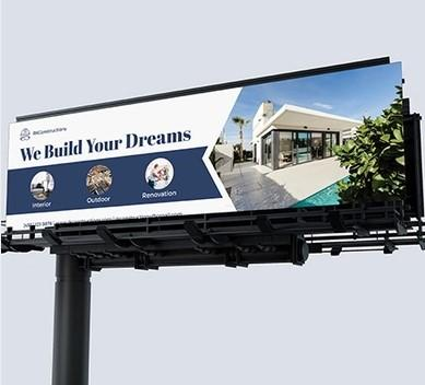 construction marketing billboard example
