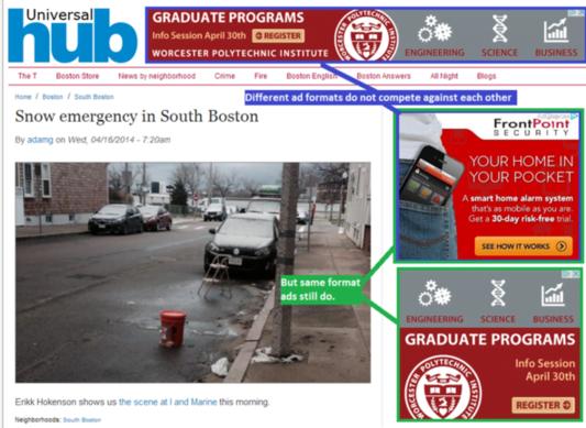 Content remarketing Universal Hub screenshot