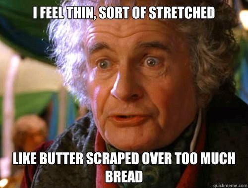 Too many AdWords keywords Bilbo Baggins