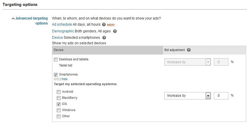 Bing ecommerce conversion rates