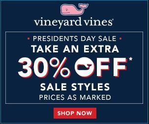 Vineyard Vines ecommerce discount ad