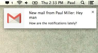Ecommerce retention Gmail mobile push notification