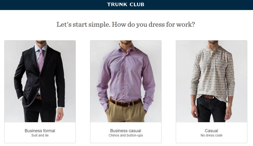 Ecommerce retention Trunk Club