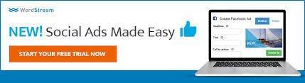 Ecommerce retention WordStream remarketing banner example