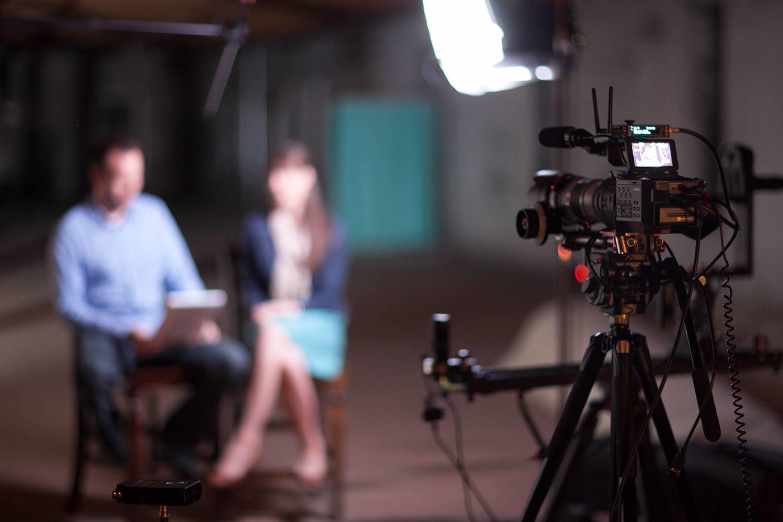 Editing marketing videos professional video shoot